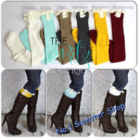 argyle boots - women new leg warmers black and white gaiters bontique argyle jacquard lace trim boot cuffs big discount knitted knee socks