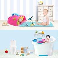 bathroom tub doors - New Bath Toy Organizer Storage Bin Toddler Baby Bathroom Bag Kid Net Super Scoop Tub MTY3