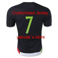 wholesale soccer jerseys - Mexico M LAYUN Home Black Soccer Jersey Soccer Jerseys Football Shirts With Embroidery Customized Soccer Tops