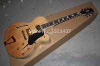 achat en gros de guitare électrique naturelle creuse-Livraison gratuite Guitare électrique G-L-5 L5