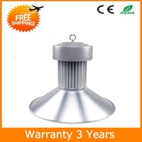 Wholesale 100W LED High Bay Light Industrial Lamp High Bay LED Lights E40 AC85 V Years Warranty CE RoHS Free Shippinh