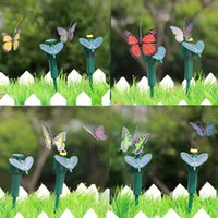 Wholesale New Promotion Interesting Items Fascinations Solar Butterfly Colors May Vary