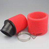 Wholesale 45mm Red Black Air Filter Dual Layer Sponge Foam Cleaner cc CRF KLX Bike