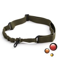 Wholesale Adjustable One Single Point Tactical Sling Airsoft Rifle Gun Bungee Cord Hook