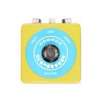 guitar pedal - Mooer SPARK CHORUS Guitar Pedals Adjustable Depth s Chorus Sound Spark Series Pedals Full Metal Case MU0680