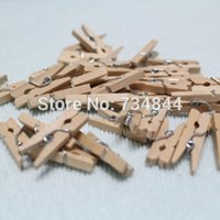 b pegs - pieces Inch Miniature Wooden clothespins small natural wood Craft Clips Pegs for Wedding Favor and Gift Bags Grade B