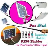 Wholesale RK09 XSories Pholder Universal mount mini clip holder Selfie Stick monopod Tripod Clip adapter holder For iPad Tablet PC mobile phone