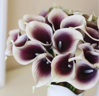 brand new calla lily artificial flowers - REAL TOUCH Callas P cm quot Artificial Flowers Calla Lilies PU Flower for DIY Bride Bouquet Wedding Supplies Several Colors Available