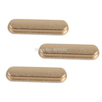 Wholesale hot selling Gold Side Key Volume Mute Power Switch Button Buttons Set For Apple iPad D1591 P
