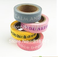 adhensive labels - Japanese tape adhensive tape DIY tape MM M Decoration stationery Tape Sticker label