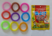 Wholesale 2015 Hot Sale Mosquito Repellent Band Bracelets Anti Mosquito Pure Natural Baby Wristband Hand Ring