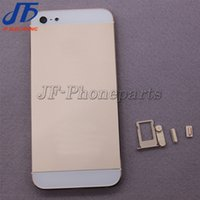 Wholesale 20pcs Back Housing For iphone G Battery Cover Metal Back Housing with Middle Plate Bezel Frame and Parts DHL