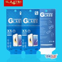 Wholesale 2000pcs For Mobile Phone Tempered Glass Screen Protector Universal Retail Package Paper Packaging Box