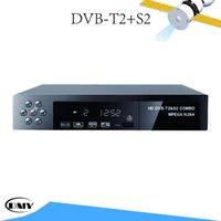 auto satellite tv - New FTA DVB S2 T2 DVB S2 T2 HDTV Digital TV Satellite Receiver Set Top Box Support HDMI MPEG H USB Auto PAL NTSC