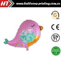 alum products - 50pcs alumnum balloons Festival party supplies New Products Children s cartoon balloon aluminum kingfisher birds Party Decoration Pink alum