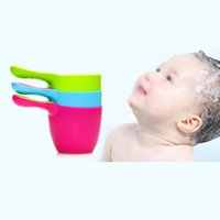 Wholesale Baby Bath Water Scoop Plastic Cup Bailer for Kids Shower order lt no track