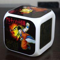 big candy decorations - Factory Gift animation around Goku Gohan Goten Dragon Ball Alarm Clock can be custom map Hot
