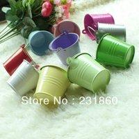 tin buckets pails - 50 Multicolor Tin Favor Pails Mini Bucket Boxes wedding Buffet Candy Box quot