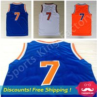 Wholesale Top quality Jerseys Brand New Blue Orange White Basketball Jersey Basketball shirts men sports wear embroidered Logos