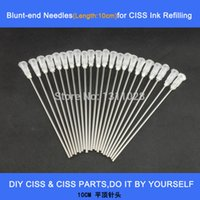 Wholesale Long blunt needles for DIY CISS and Refillable Cartridges as ink refilling tool