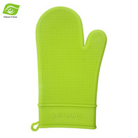 silicone cooking - 1PC Cooking Tools Hanging Silicone Oven Mitts Microwave Oven Kitchen Silicone Glove dandys