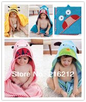 Wholesale Fashion Hot Baby Bath Children s Towels Robes cute animal modeling bathrobe baby towels