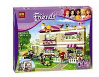 Wholesale Christmas gifts Bela Girl friends Oliver s House and minifigures Oliver Peter Anna figures building block sets blocks