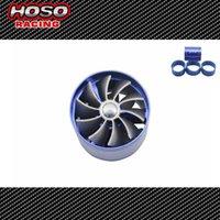 Wholesale Universal Gas Saver Air Intake Car turbo Saver Fan Intake Fan Double Propeller Supercharged Turbo Air Intake