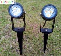 Wholesale New COB Led Lawn Light W AC V Garden Spot Light IP65 Waterproof Outdoor Lawn LED Light Year of Quality Warranty