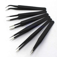 Wholesale P80 Hot sale Resists Corrosion Safe Anti static Tweezers Maintenance Tools ESD10 A2