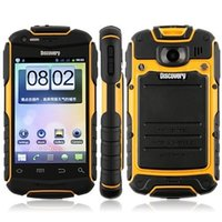 discovery v5 - 100 New Discovery V5 V5 Dustproof Shockproof Phone inch Android MTK6572 Dual Core MP Dual Sim Mobile Phone