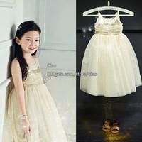 korean children clothing - Party Dress Korean Girl Dress Princess Dress Girls Long Dresses Children Clothes Kids Clothing Sequin Dress Spring Summer Dresses L42398