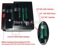 Wholesale 2 quot IDE SATA HDD Dock Docking Station Clone HUB