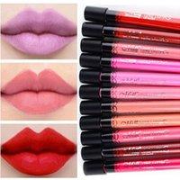 Cheap Wholesale-Women Moisture Matte Lip Gloss Color Waterproof Lipgloss Female Sexy Make Up Long Lasting Anastasia Beverly Hills OR602541
