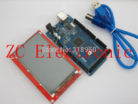 Wholesale MEGA R3 ATmega2560 AU Board For Arduino Inch TFT Touch LCD Screen Module