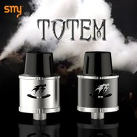 bear totem - SMY Totem RDA mm Rebuildable Dripping Atomizer Post Wide Bore Drip Tip Atomizer huge vapor and good taste