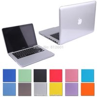 Wholesale Transparent crystal cover Case For Apple Macbook Pro Retina quot A1502 For Macbook Pro quot A1278 without logo