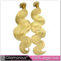 Cheap Deep Wave Body Wave Hair Extensions Best Brazilian Hair machine Blonde Body Wave
