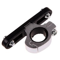 Wholesale New Bike Bicycle Cycling Water Bottle Cage Holder Clamp Clip Handlebar Bracket Mount PTSP