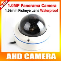 dome camera - HD CCTV MP P Panorama AHD Camera Outdoor Dome Security Video Surveillance mm Fisheye Lens Full Degree View