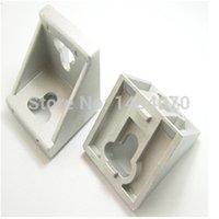 powder coated aluminum profile - Corner Brakets Aluminum color powder coated used for profile series