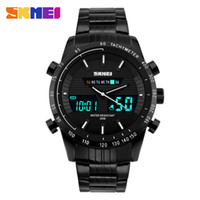 acrylic display manufacturers - When beauty manufacturers selling high end men s new waterproof watch leisure business male double display watches electronic watch