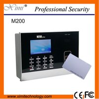 Wholesale TCP IP network Card Time Attendance systems Time Recorder time clock Timely Clock M200 ID