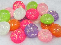 Wholesale Full shipping resin shell mm cabochons for DIY phone case decoration pendant mixed color