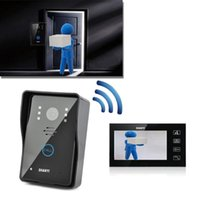 Wholesale New Brand Home smartphone Night Version Camera Intercom System Inch Wired Doorbell Color Video CMOS