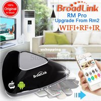 Wholesale Original Broadlink RM2 RM Pro smart home Automation Universal Intelligent remote controller WIFI IR RF switch via iphone Android