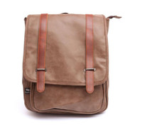 best laptop travel bag - Men Women Vintage College Style Best Quality PU Leather Backpack Versatile Laptop Racksack Male Travel Hiking Bags