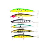 Wholesale 6pcs CM G Big Game Hard Fishing Lures Kit Pesca Fish Wobbler Minnow Artificial Lure Swimbait