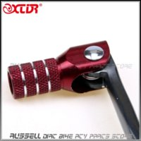 atv shift lever - 2015 NEW Gear Shift Lever alloy Aluminium For CRF50 cc cc Dirt Pit monkey bike motorcycle ATV Quad Accessories Parts