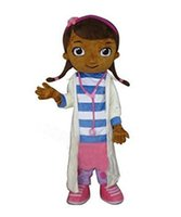 amusement parks - 2014Sell like hot cakes Custom made Doc McStuffins mascot costume party costumes fancy animal character mascot dress amusement park outfitt